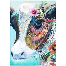 DIY 5D diamond painting animal color decoration horse cross stitch mosaic embroidery rhinestone craft