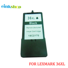1pcs  for Lexmark 36 36xl Ink Cartridges X3650 X4650 X5650 X5650es X6650 X6675 Z2420 printer