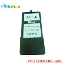 Einkshop لكسمارك 36 36xl خراطيش الحبر لكسمارك X3650 X4650 X5650 X5650es X6650 X6675 Z2420 طابعة