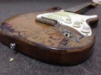 100 Handwork Relic Electric Guitar Very Popular Alder Body