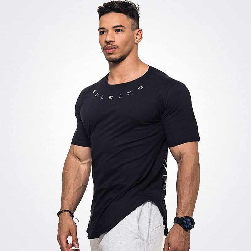 Для мужчин s Фитнес 3D принты одежда с длинным рукавом Футболка Бодибилдинг кожи плотно термальность сжатия рубашки для мальчико