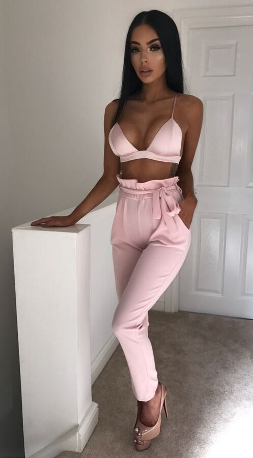 Hot Sale Fashion Women's Solid High Waist Slim Solid Bandage Stretchy Pants Office Lady Summer Casual Straight Thin Pants S-XL 7