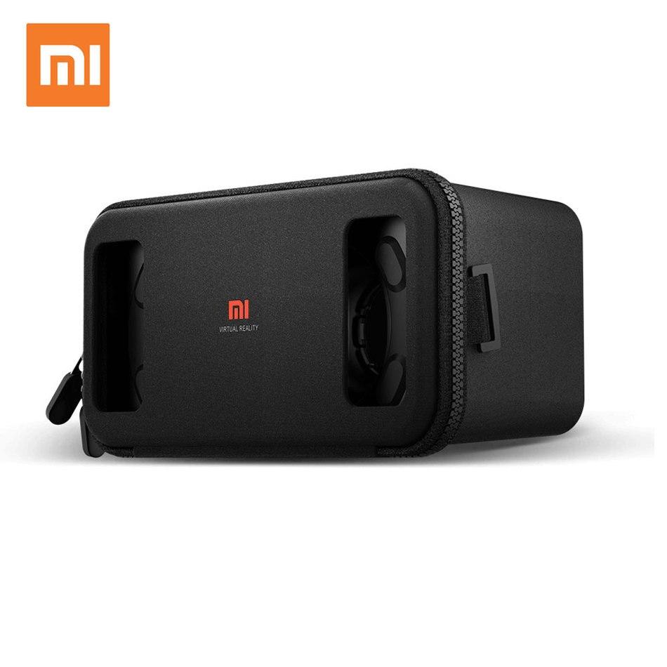 <font><b>Original</b></font> <font><b>Xiaomi</b></font> Mi <font><b>VR</b></font> Box Bluetooth Remote Virtual Reality 3D <font><b>VR</b></font> <font><b>Glasses</b></font> Cardboard Immersive For 4.7-5.7 Inch Smartphone