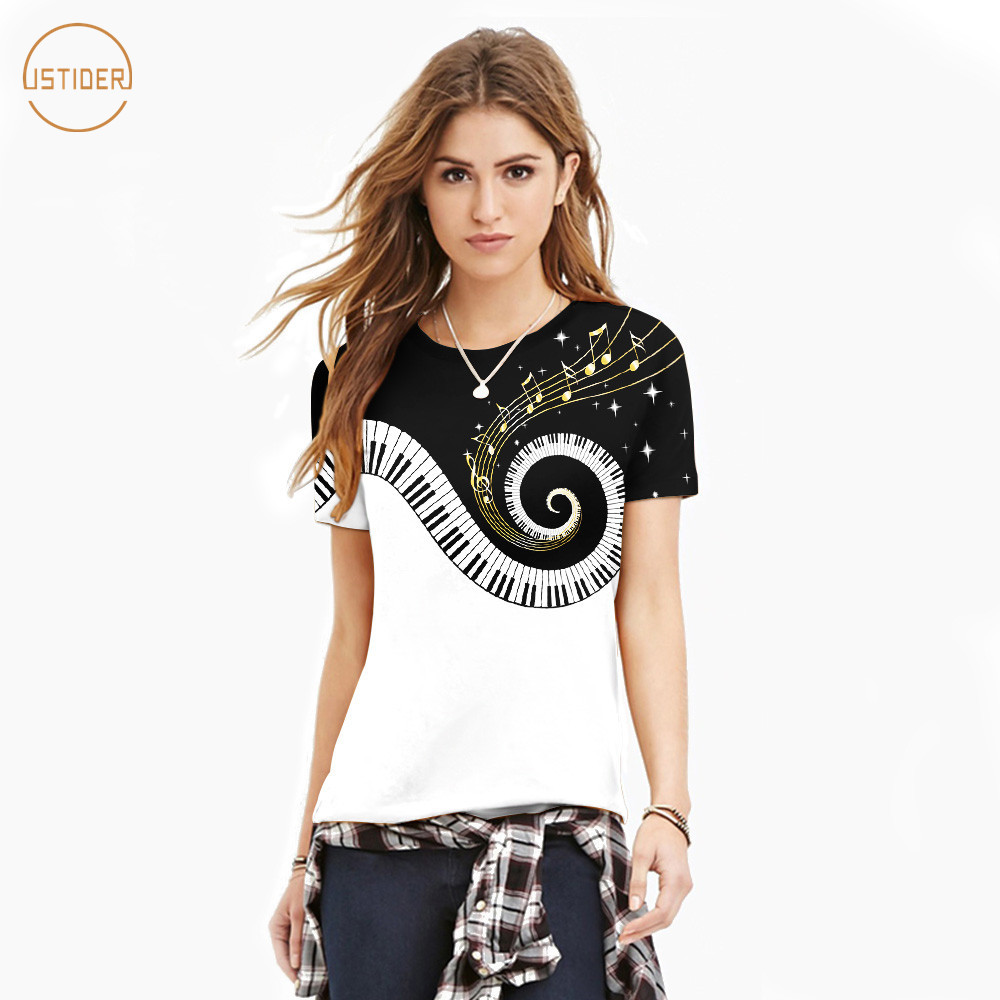 Cheap Price 2019 Europe America Summer Women 3d T-shirt Cute Rainbow Unicorn Print Round Collar T-shirt Shorts Sleeve Loose Tees Top Maternity Clothing