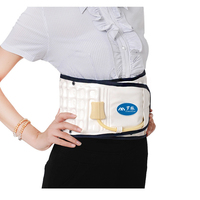 OPHAX Body Relaxation Massager Back Belt Spinal Air Traction Physio Decompression Back Brace Back Pain Lower