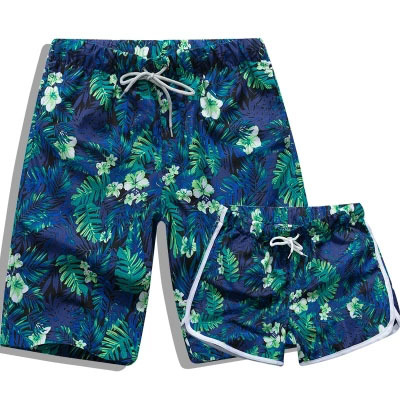 Summer Beach Shorts Men Swimming Trunks Breathable Quick Dry Sport Pants Couple Swimsuit Surf Swim Swimwear Polyester Clothing
