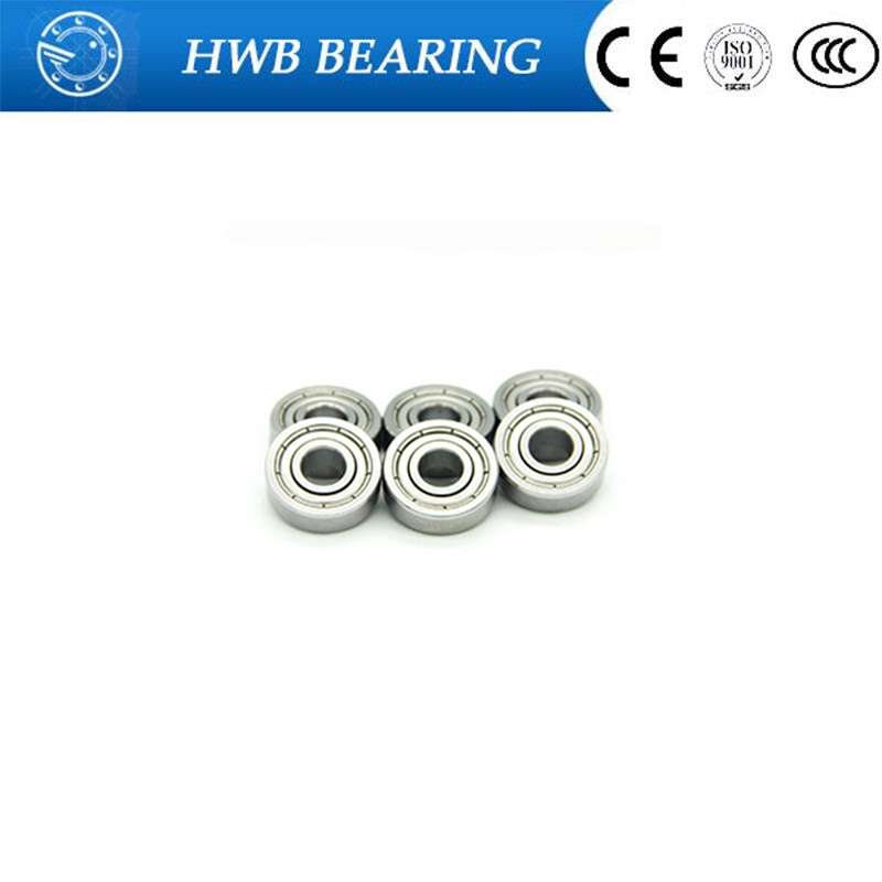 10pcs mr105zz <font><b>604zz</b></font> 606zz 608zz 623zz 624zz 625zz 626zz 635zz 685zz 698zz Deep Groove Ball Bearing Flanged Pulley Wheel image