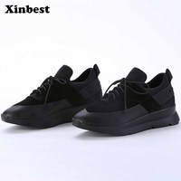 Xinbest Man Brand Outdoor Jogging Men Running Shoes Super Light Outdoor Athletic Men Sneakers The increased Man Walking Shoes