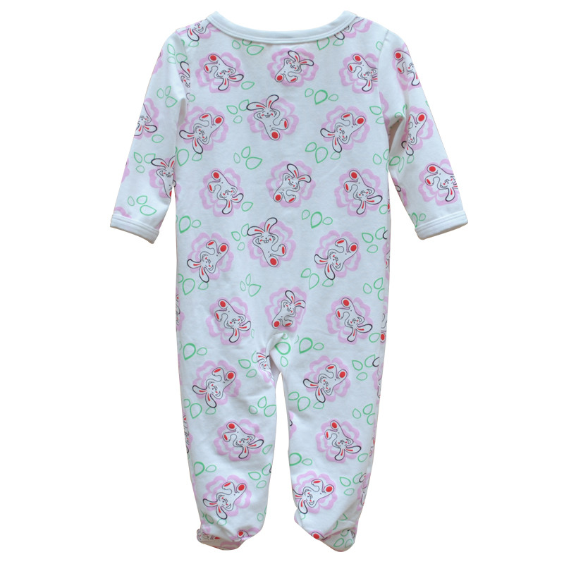 Brand Newborn Baby Clothes Cute Cartoon Baby Costume Girl Boy Jumpsuit Clothing Spring Autumn Cotton Romper Body Baby Clothes 12