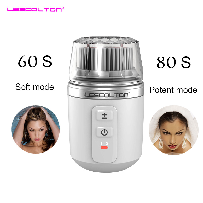 Mini Ultrasonic Electric face cleaner brush limpieza facial Spa massage Tools Facial face Cleansing Brush Face Brush Vibration riwa electric face cleanser vibrate pore clean soft silicone cleansing brush massager facial vibration skin care spa massage