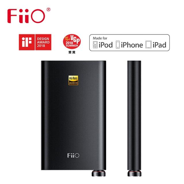 Fiio Q1 Mark II היי Res אודיו ילידים DAC DSD אוזניות מגבר XMOS 384 kHz/32 קצת iphone/iPad/מחשב AK4452 Q1II