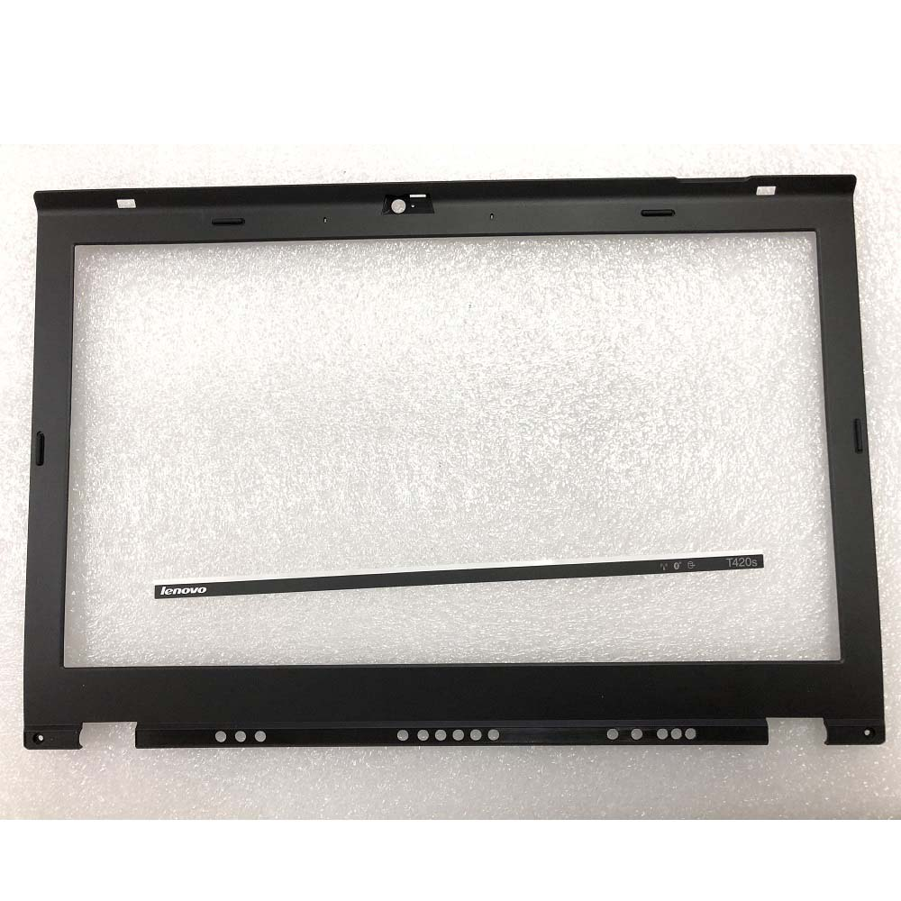 New Original LCD Front Shell Bezel Cover For ThinkPad T420S T430S Front Bezel  Frame For T420S T430S