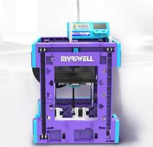 3D принтер всей машины, DIY рабочего высокая точность обучение клиентов, home 3D печати, PLA охрана окружающей среды