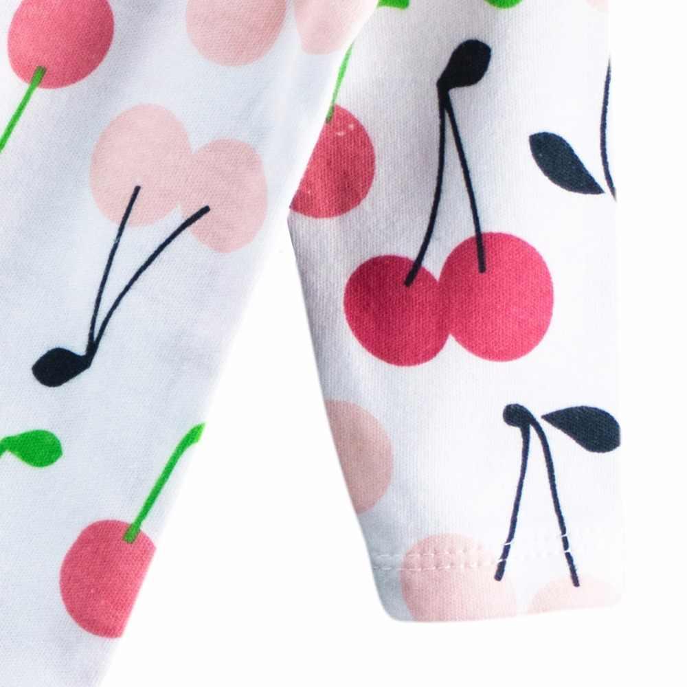 3 pcs 100% 코 튼 베이비 romper 긴 소매 편안한 아기 잠 옷 만화 인쇄 신생아 아기 옷