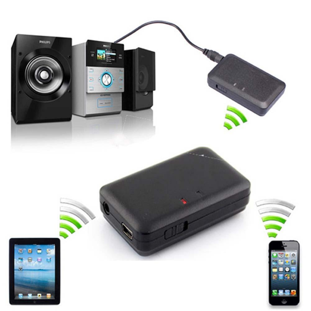 High Quality Portable 5V 3.5mm Wireless Bluetooth A2DP Audio Music Streaming Receiver Home Car AUX Adapter Best Price 2017