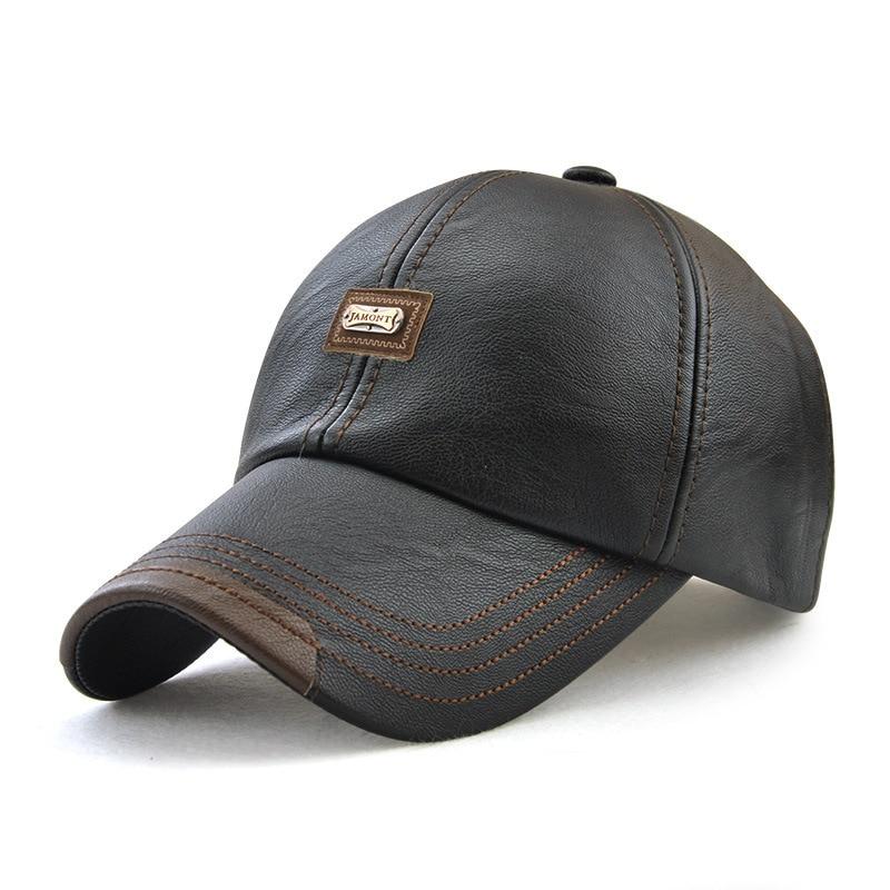Hats Baseball-Hat Women 12966 Pu-Fabric Warm Autumn And Outdoor Winter Fashioned New