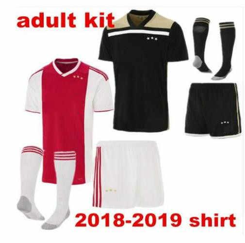2018 2019 Аякс новый высокого качества взрослых Ajax комплекты домашнего Мужская