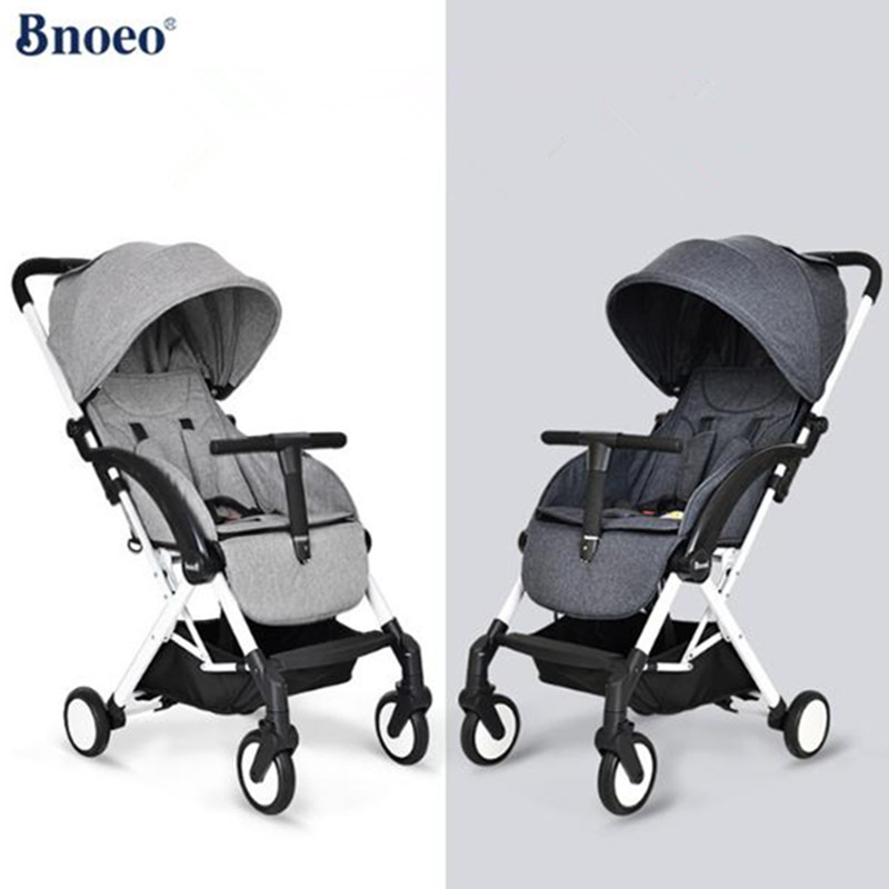 Bnoeo baby stroller can sit reclining folding portable shock simple baby cart for newborns