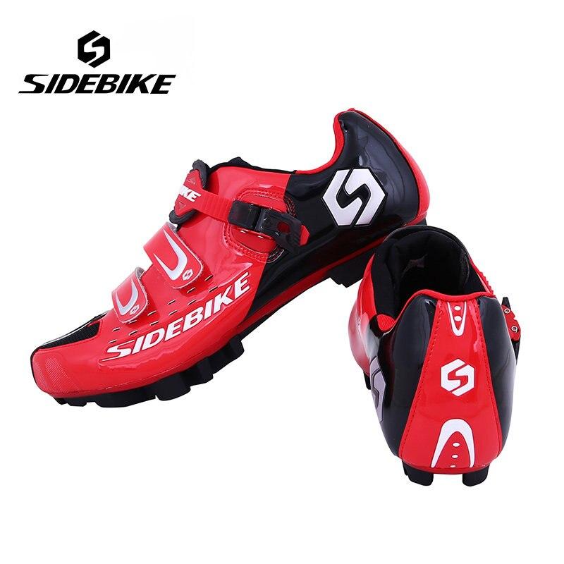 Цена за Sidebike профессиональных спортивная велосипедов спортивная обувь велоспорт mtb велосипед обувь горные ботинки мужчины mtb велосипед с автоблокировкой обувь