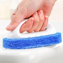 Kitchen Tool Plastic Handle Sponge Bath Brush Cleaning Tile Glass Clean Brushes