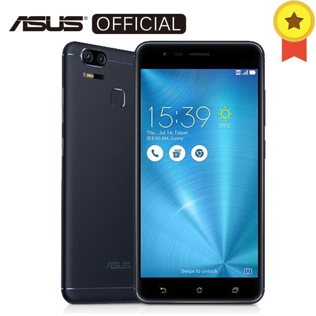 Asus Zenfone 3 зум ZE553KL 4 ГБ Оперативная память 64 ГБ Встроенная память 5,5 дюйма amloed FHD Snapdragon 625 5000 мАч Android 6,0 Dual 12MP смартфон с NFC оты