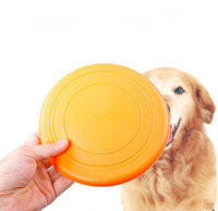 Silicone Flying Discs Frisbee Outdoor Training Dog Fetch Toy 16.5CM