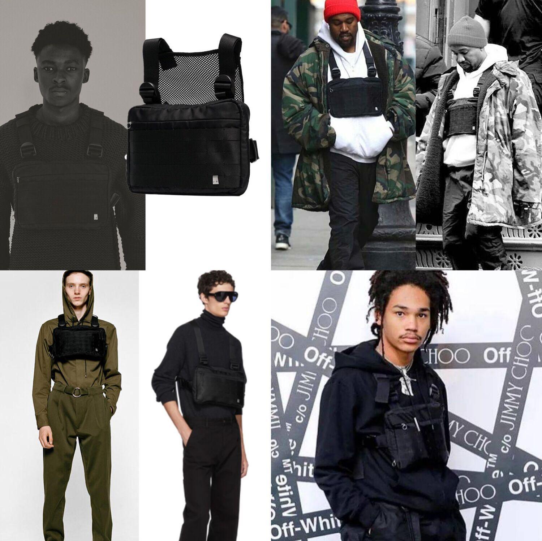 hop moda tático arnês saco de peito