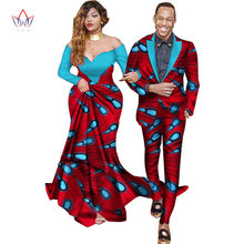 Sweet Lovers Matching Couples Clothes Gift Valentine day Long Sleeve Women Maxi Dresses and Mens Jacket Suits Plus Size WYQ40