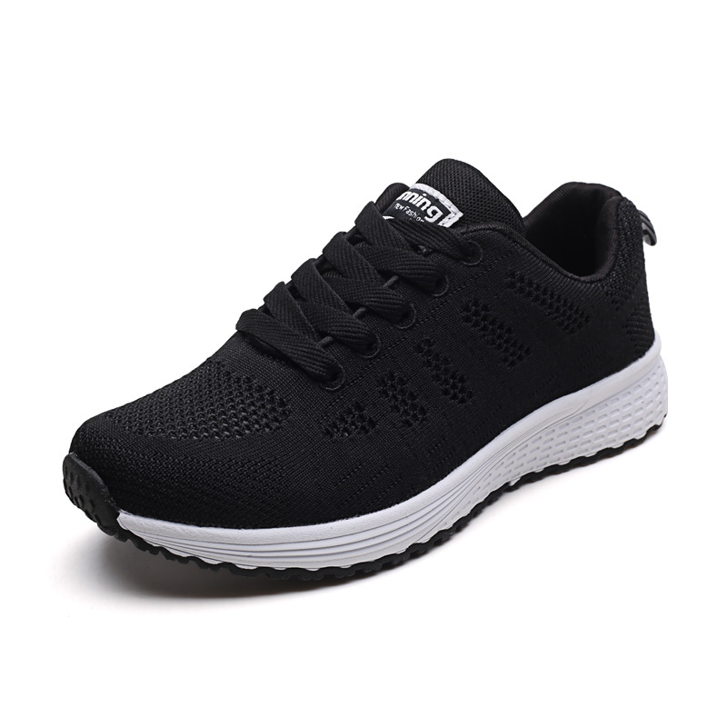 Women Casual Shoes Fashion Breathable Walking Mesh Flat Shoes Sneakers Women 2020 Gym Vulcanized Shoes White Female Footwear 5