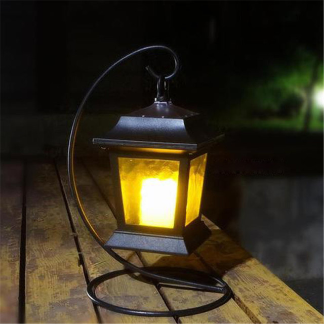 Merveilleux Luminaria LED Solar Panel Candle Desk Table Lawn Lights Garden Outdoor  Hanging Lamp Solaris Power Landscape