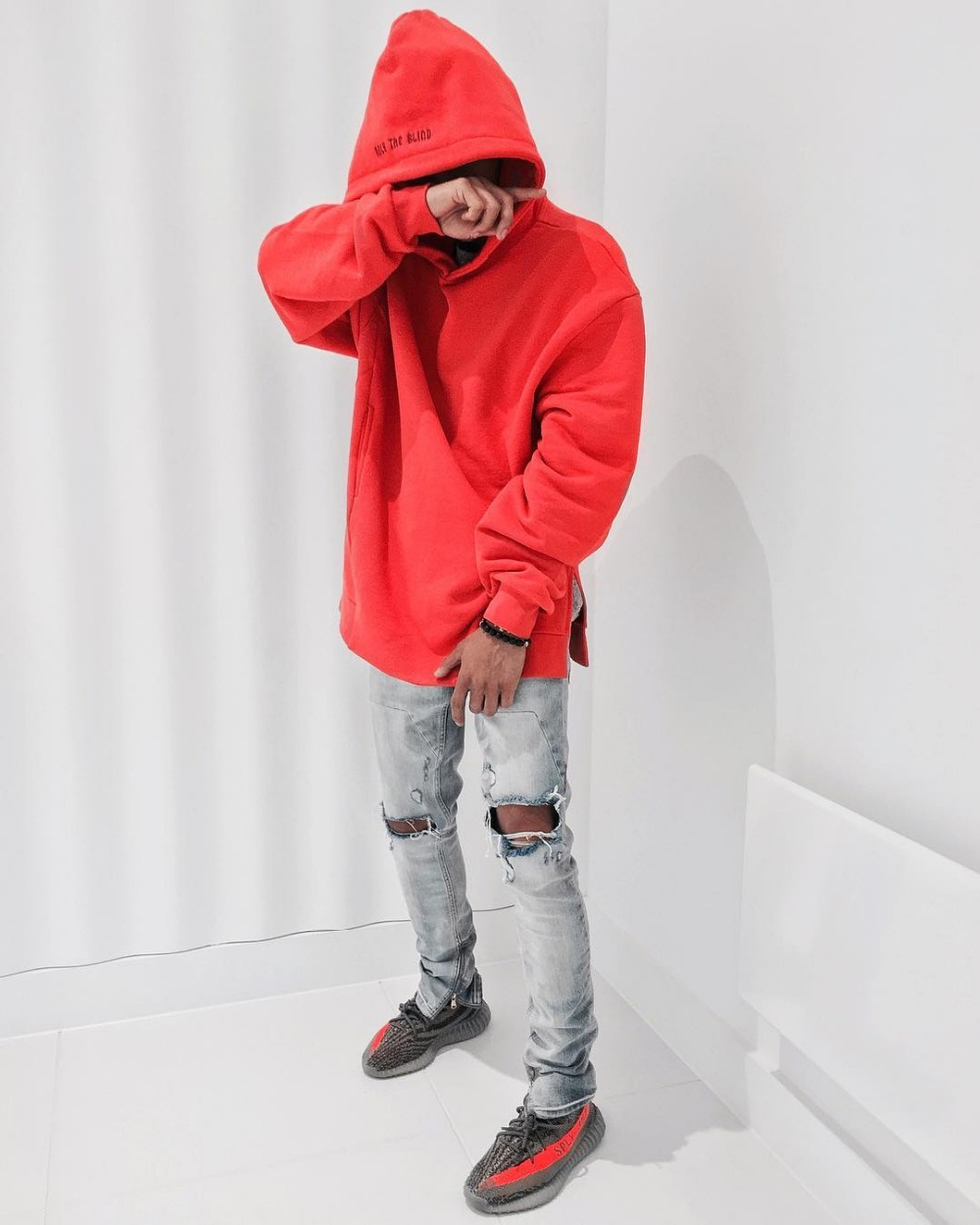 2018 2017 Fall Winter Hip Hop Style Unisex Men Only The