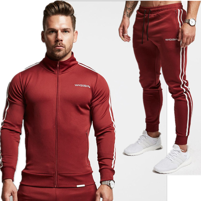 2018 Spring Autumn Men S Fashion Sportswear Sporting Men Clothes Track Tracksuits Male Sweatshirts Men Plus