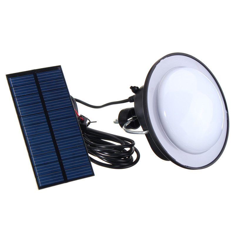 Waterproof Portable Solar Panel Power 60 LED Solar Light Lamp Emergency Camping Lamp Outdoor Tent Fishing Light