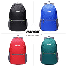 Caden Backpacks Camera Photo Bags Soft Shoulders Black Red Blue Green Men Women Digital Video New Backpack For Canon Nikon Case new pattern national geographic ng a5290 camera bag backpacks video photo bags for camera backpacks bags