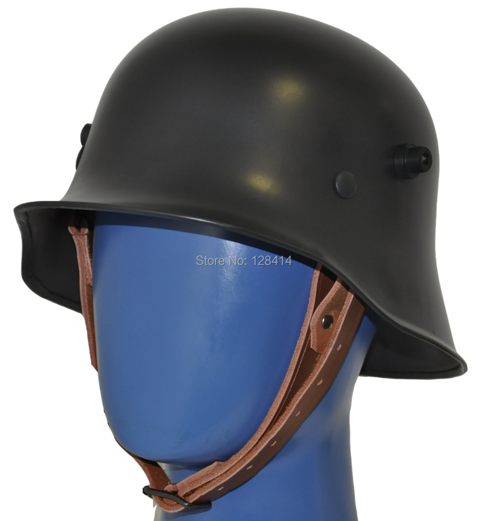 Free Shipping! World War one Green German M18 Helmet Steel Safety Helmet WW1 German M18 Oliver Drab Green Helmet green world bike gwb