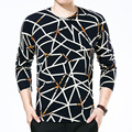 2016 Autumn And Winter Men Printed Sweaters, Long-sleeved O-Neck Sweater And Pullovers, Men's Fashion Casual Sweater Personality