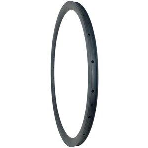 Image 4 - Disque de route asymétrique tubeless en carbone, 360g 30mm, roue tubeless, en forme de U large 700c, UD 3K, mat et brillant, 20H 24H 28H 32H 36H
