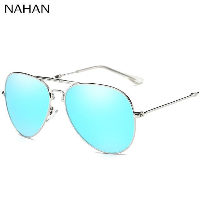 Polarizados óculos de Aviador Óculos De Sol Pode Ser Dobrado Portátil Unisex Elegante Homens de Metal Óculos de Armação de Condução Espelho Óculos de Sol Senhora