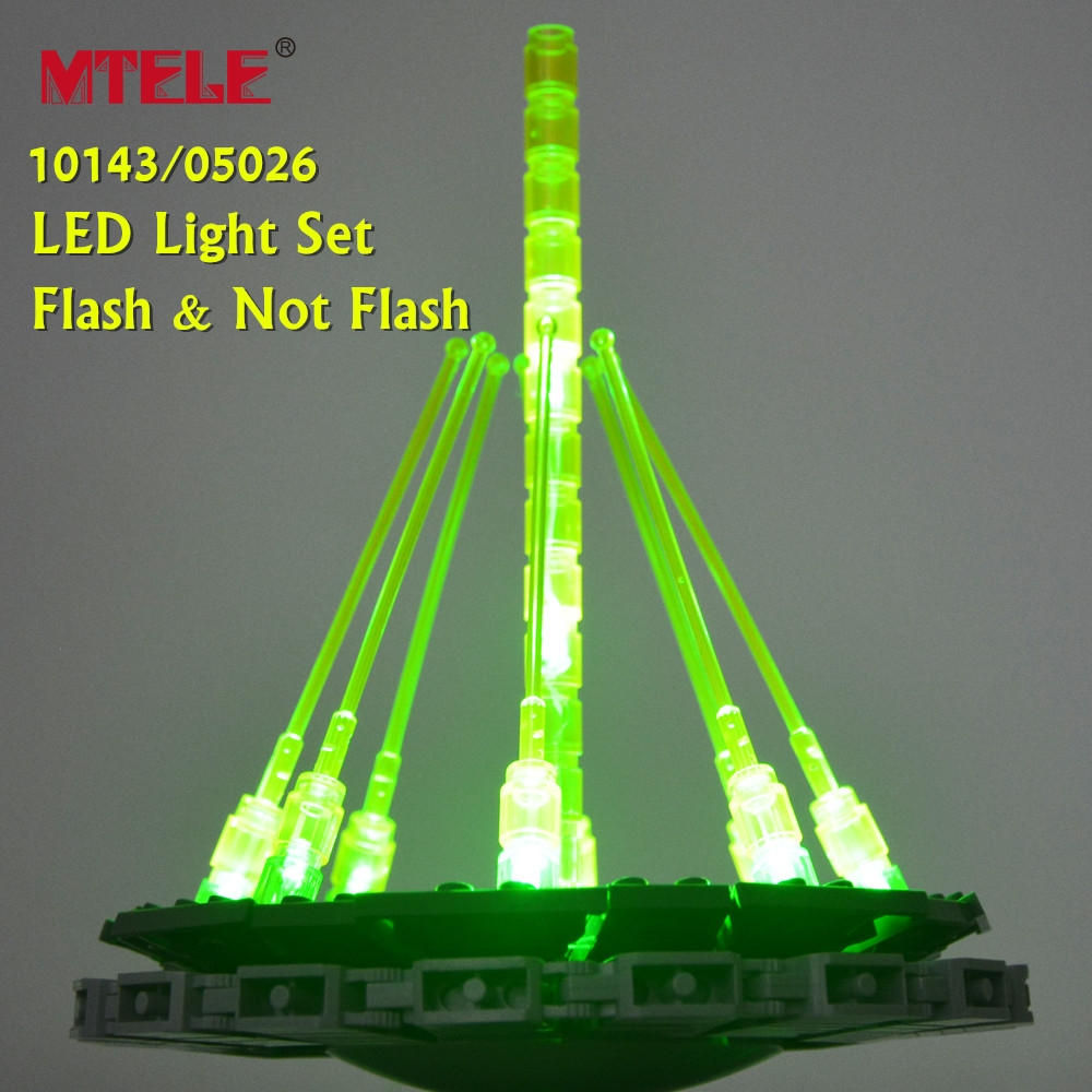 MTELE <font><b>Led</b></font> Light Kit For 10143/05026 Death Star War Building Block Lepin 05035 Compatible With Lego 10188 Gift For Children