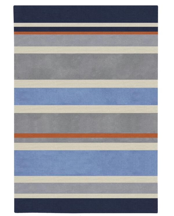 Mode sort couleur rayures géométriques chambre d'enfants garçon décoration maison tapis chambre créative porte tapis
