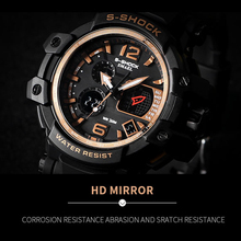 Men Watches White Sport Watch LED Digital 50M Waterproof Casual Watch S Shock Male Clock 1509 relogios masculino Watch Man