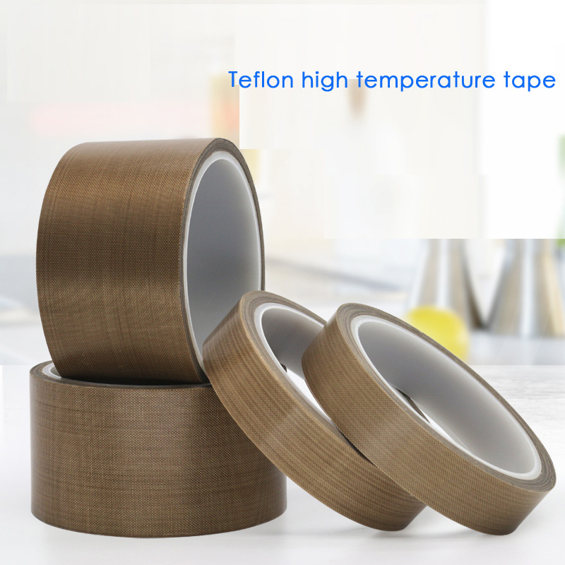 Teflon - Resistant High - Temperature Adhesive  Cloth Insulation 300 Degree  Vacuum Sealing Machine  Teflon Tape