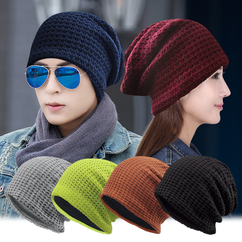 Autumn Winter Beanies Hat Unisex Knitted Skullies Beanies Casual Cap Solid Colors Hip Hop Gorros Caps Outdoor Sport Warm Hat  new 2016 winter hat nasa men women unisex solid brand hot sale warm casual knitted hip hop caps hat female skullies beanies