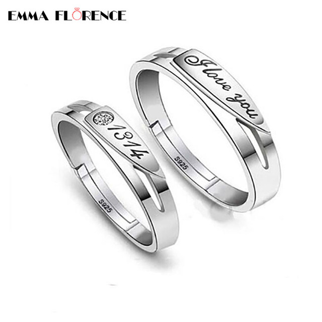 Valentine S Day Forever Love Engagement Ring Fashion 925 Sterling