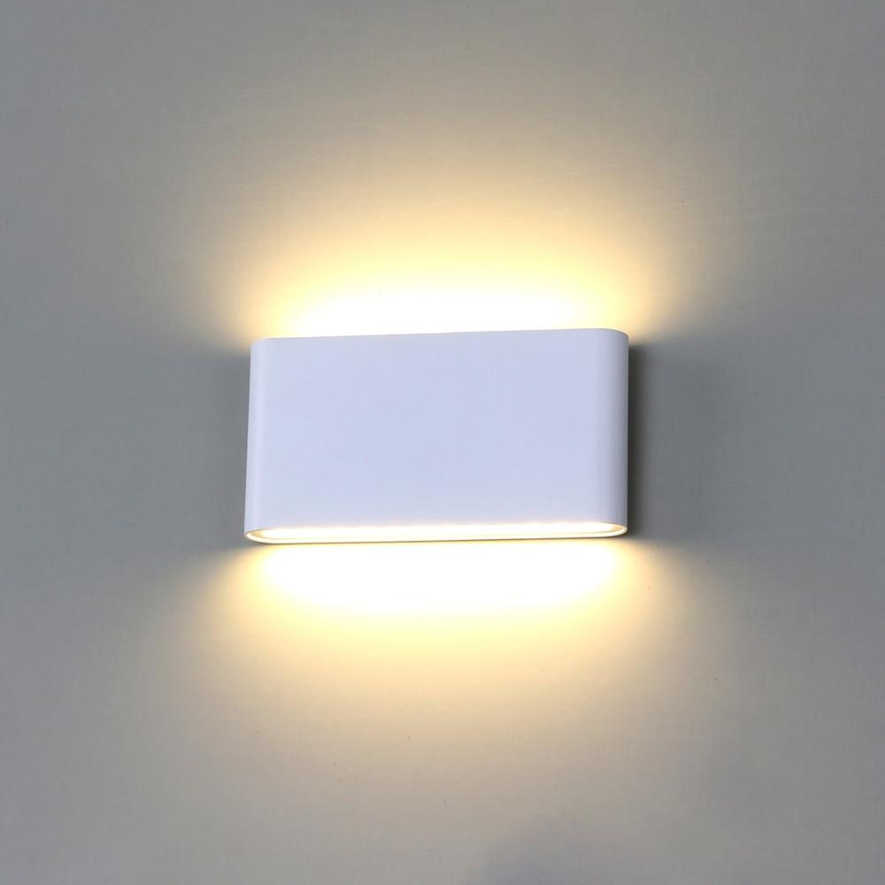 Applique Murale Lampe Led Mur Extérieur Étanche IP65 Aluminium 6 w/12 w LED Lumière De Mur Intérieur Décoré Mur applique BL07
