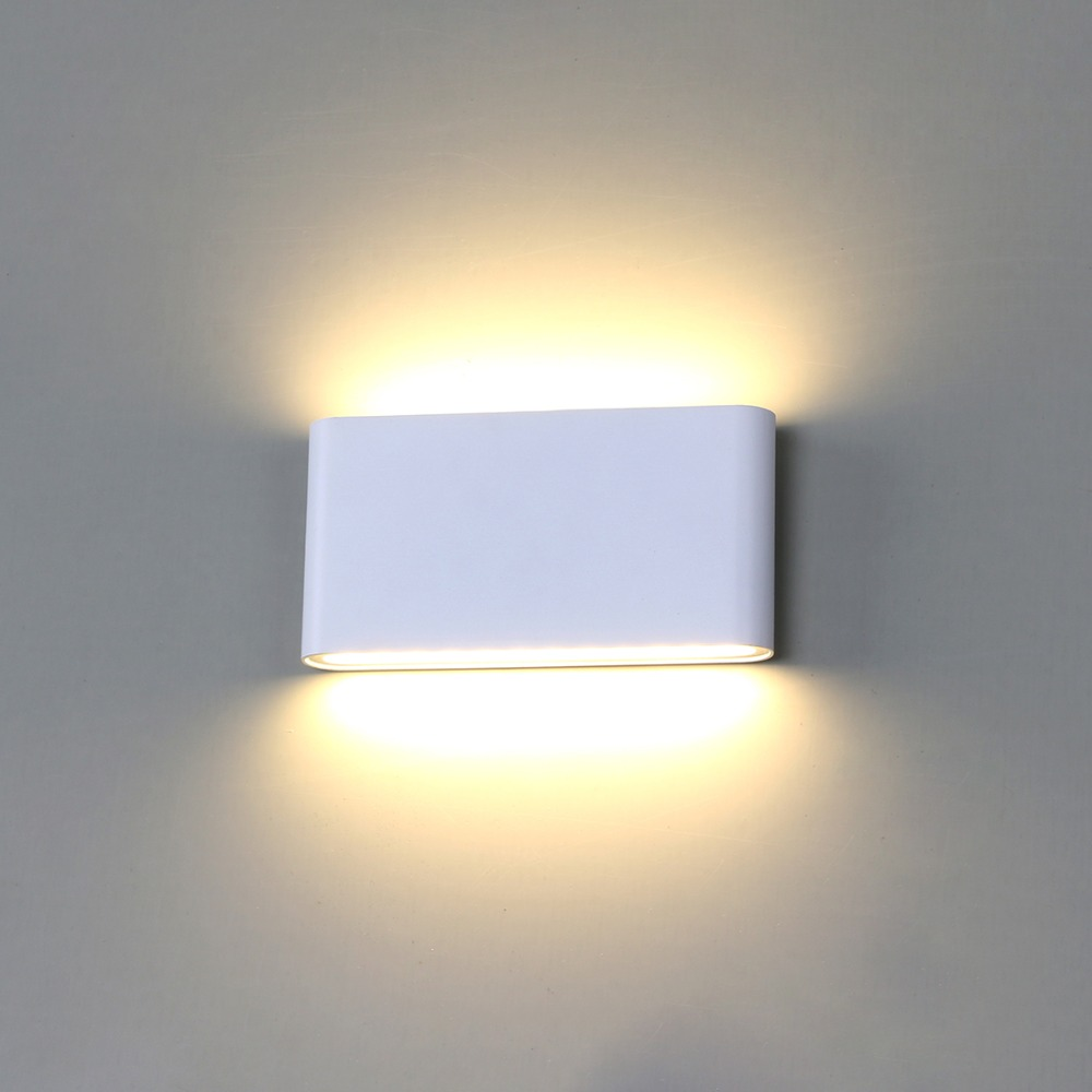 Led Indoor Wall Lamps 2w Aluminium Acrylic Modern Led Wall Lamp With 2 Lights For Home Indoor Lighting Luminaire Lamparas Led Wall Sconce Lights & Lighting
