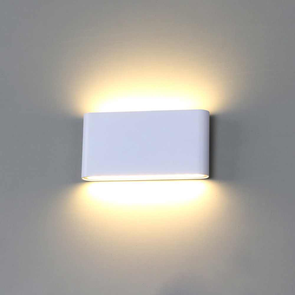 Wall Light Led Waterproof Outdoor Wall Lamp Ip65 Aluminum 6w 12w Led Wall Light Indoor Decorated Wall Sconce Bl07
