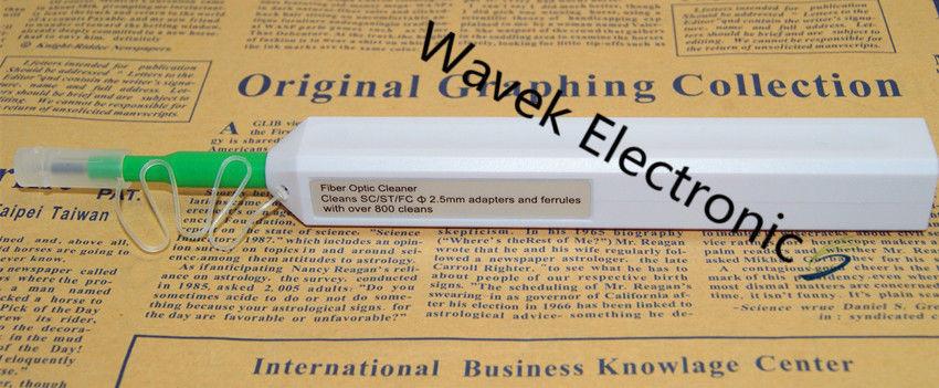 Fibra Ottica Cleaner One Click Cleaner 2.5mm Universale Connettore SC/ST/FC Fiber Optic Connector Cleaner Penna strumento di pulizia della fibra