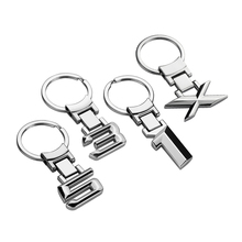 Zinc Alloy Metal Auto Car Keychain Keyring Key Ring Holder For BMW E46 E39 E60 E90 E36 F30 F10 1 3 5 Series X Series Accessories