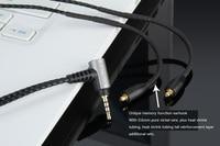 2 5mm OCC Silver Audio BAL Cable For FiiO F5 F9 F9SE F9Pro In Ear Monitors